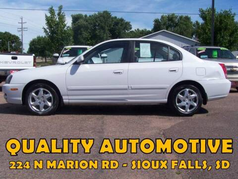 2004 Hyundai Elantra for sale at Quality Automotive in Sioux Falls SD