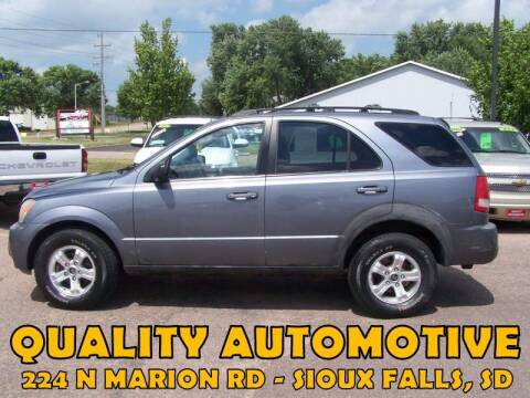 2004 Kia Sorento for sale at Quality Automotive in Sioux Falls SD