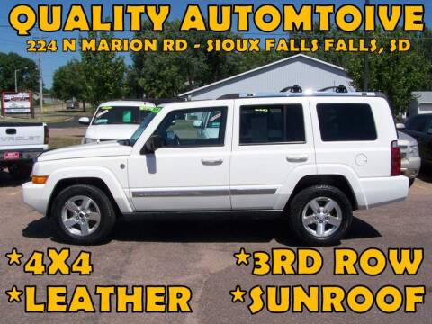 2007 Jeep Commander for sale at Quality Automotive in Sioux Falls SD