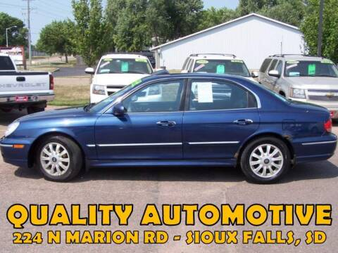 2005 Hyundai Sonata for sale at Quality Automotive in Sioux Falls SD