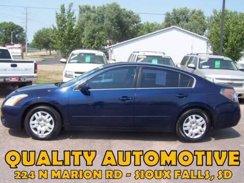 2010 Nissan Altima for sale at Quality Automotive in Sioux Falls SD