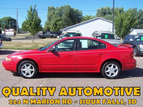 2003 Oldsmobile Alero for sale at Quality Automotive in Sioux Falls SD