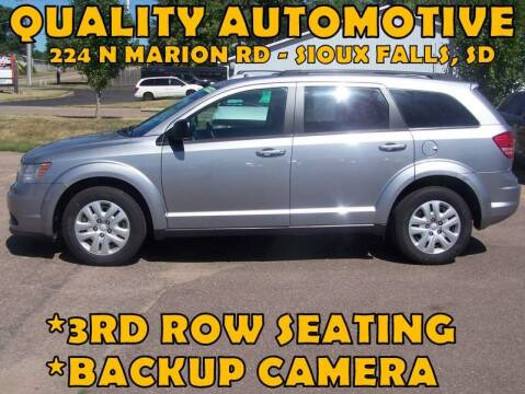 2018 Dodge Journey for sale at Quality Automotive in Sioux Falls SD