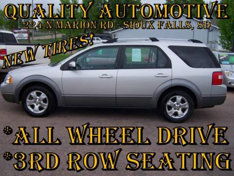 2007 Ford Freestyle for sale at Quality Automotive in Sioux Falls SD