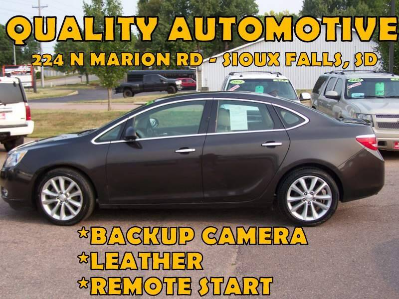 2013 Buick Verano for sale at Quality Automotive in Sioux Falls SD