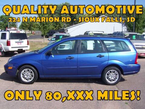 2005 Ford Focus for sale at Quality Automotive in Sioux Falls SD