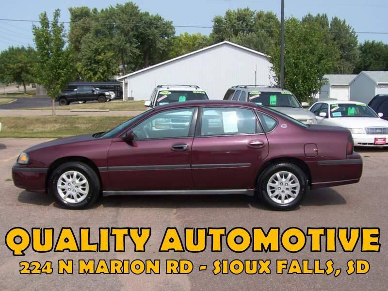 2004 Chevrolet Impala for sale at Quality Automotive in Sioux Falls SD