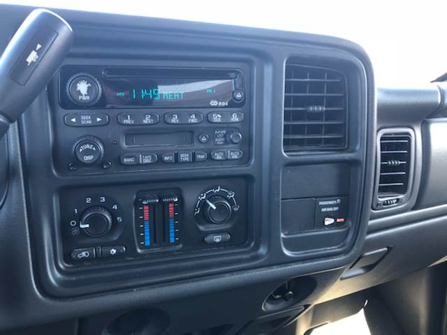 2003 Chevrolet Silverado 1500Hd 4dr Crew Cab LS 4WD SB In ...