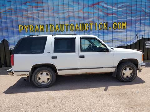 1997 GMC Yukon for sale in Pueblo, CO