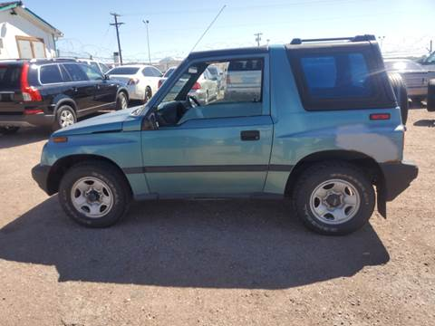 1996 Geo Tracker For Sale In Fountain Co