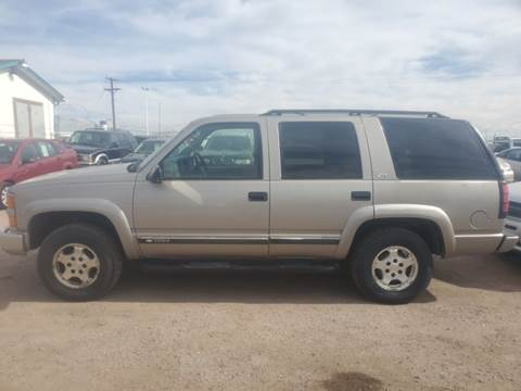 2000 Chevrolet Tahoe Limited/Z71 for sale in Fountain, CO