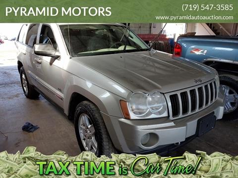 2006 Jeep Grand Cherokee Laredo for sale at PYRAMID MOTORS - Pueblo Lot in Pueblo CO