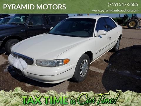 2002 Buick Century Custom for sale at PYRAMID MOTORS - Pueblo Lot in Pueblo CO