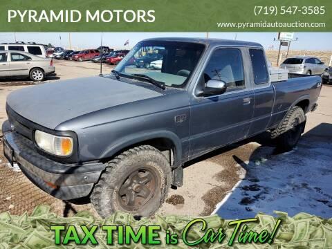 1994 Mazda B-Series Pickup B4000 LE for sale at PYRAMID MOTORS - Pueblo Lot in Pueblo CO