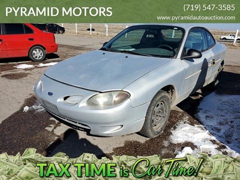 1999 Ford Escort ZX2 Cool for sale at PYRAMID MOTORS - Pueblo Lot in Pueblo CO