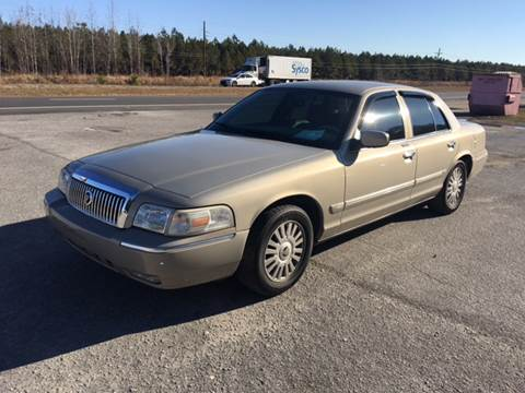 2007 Mercury Grand Marquis for sale at County Line Car Sales Inc. in Delco NC