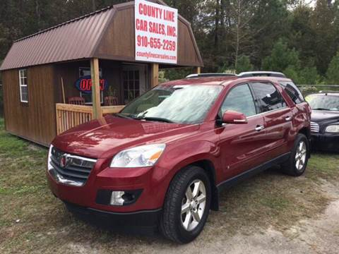 2007 Saturn Outlook for sale at County Line Car Sales Inc. in Delco NC
