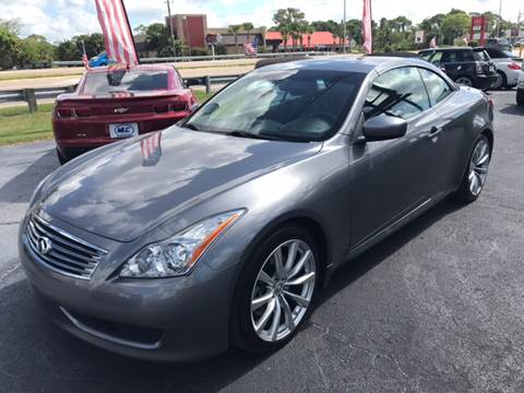 2010 Infiniti G37 Convertible for sale in Sarasota, FL