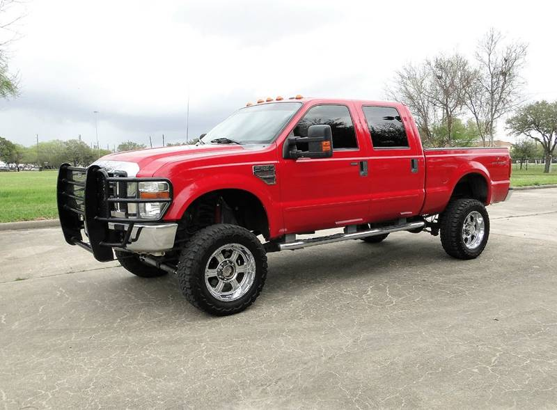 2009 ford f 250 super duty 4x4 lariat 4dr crew cab 6 8 ft sb pickup in houston tx global auto. Black Bedroom Furniture Sets. Home Design Ideas