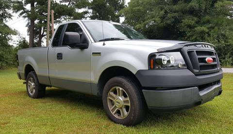 2005 Ford F-150 for sale at Klassic Cars in Lilburn GA