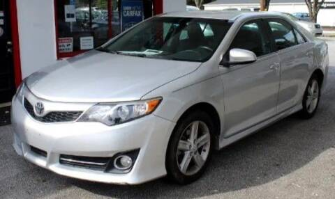 2013 Toyota Camry for sale at Klassic Cars in Lilburn GA