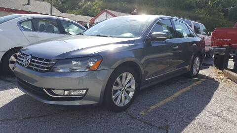 2013 Volkswagen Passat for sale at Klassic Cars in Lilburn GA