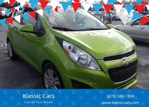 2014 Chevrolet Spark for sale at Klassic Cars in Lilburn GA
