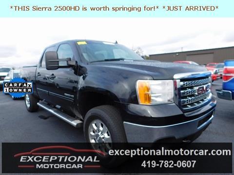 2013 GMC Sierra 2500HD for sale in Defiance, OH