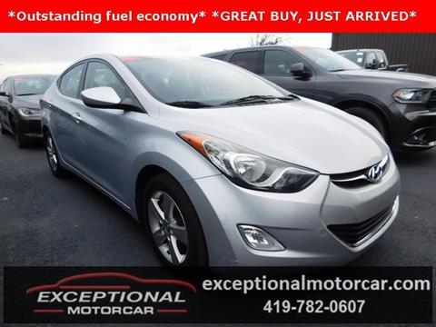 2012 Hyundai Elantra for sale in Defiance, OH