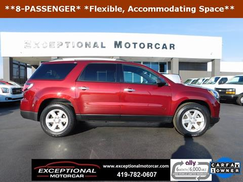 2015 GMC Acadia for sale in Defiance, OH