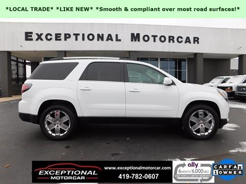 2017 GMC Acadia Limited for sale in Defiance, OH