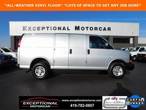 2016 Chevrolet Express Cargo for sale in Defiance, OH