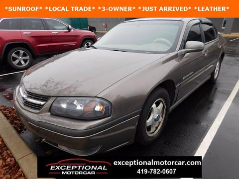 2001 Chevrolet Impala for sale in Defiance, OH