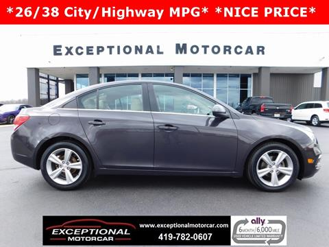 2015 Chevrolet Cruze for sale in Defiance, OH