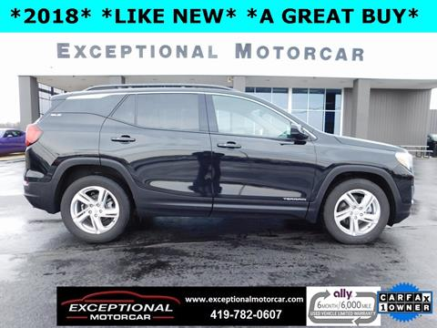 2018 GMC Terrain for sale in Defiance, OH