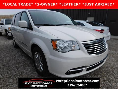 2013 Chrysler Town and Country for sale in Defiance, OH