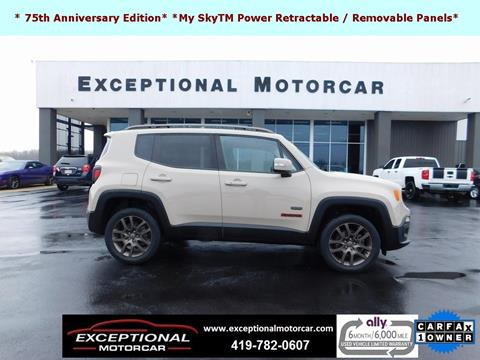 2016 Jeep Renegade for sale in Defiance, OH