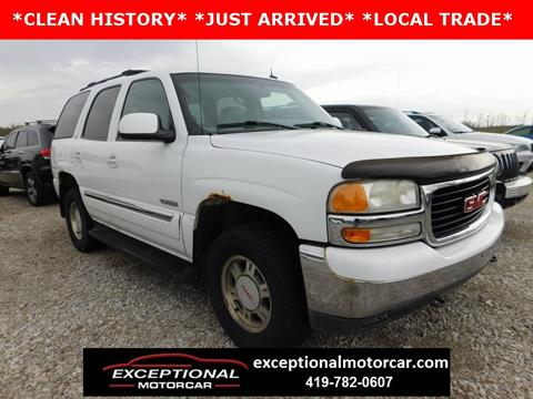2002 GMC Yukon for sale in Defiance, OH