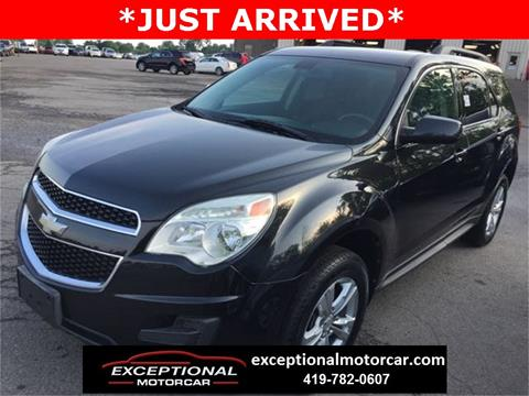 2011 Chevrolet Equinox for sale in Defiance, OH