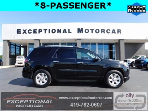 2016 GMC Acadia for sale in Defiance, OH