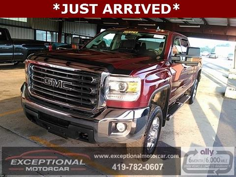 2016 GMC Sierra 2500HD for sale in Defiance, OH