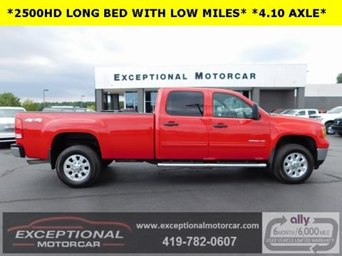 2014 GMC Sierra 2500HD for sale in Defiance, OH