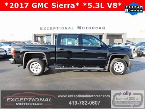 2017 GMC Sierra 1500 for sale in Defiance, OH
