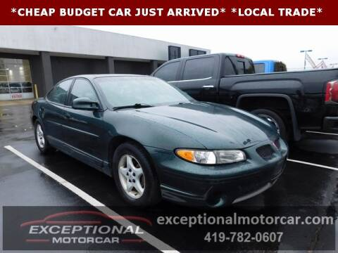 1998 Pontiac Grand Prix for sale in Defiance, OH