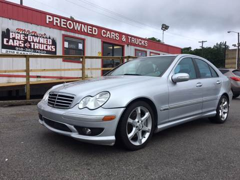 2007 Mercedes-Benz C-Class for sale at Midtown Pre-Owned Cars & Trucks in Tulsa OK