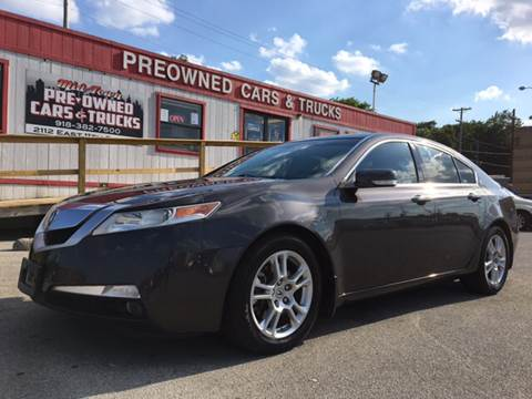 2009 Acura TL for sale at Midtown Pre-Owned Cars & Trucks in Tulsa OK