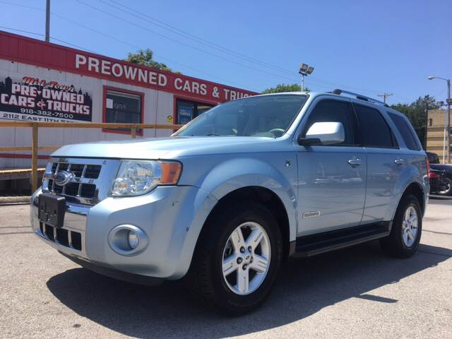 2008 Ford Escape Hybrid for sale at Midtown Pre-Owned Cars & Trucks in Tulsa OK