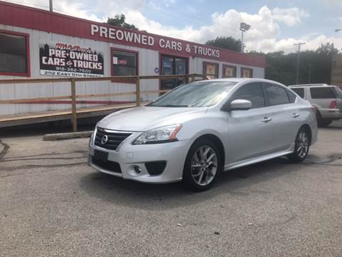 2013 Nissan Sentra for sale at Midtown Pre-Owned Cars & Trucks in Tulsa OK