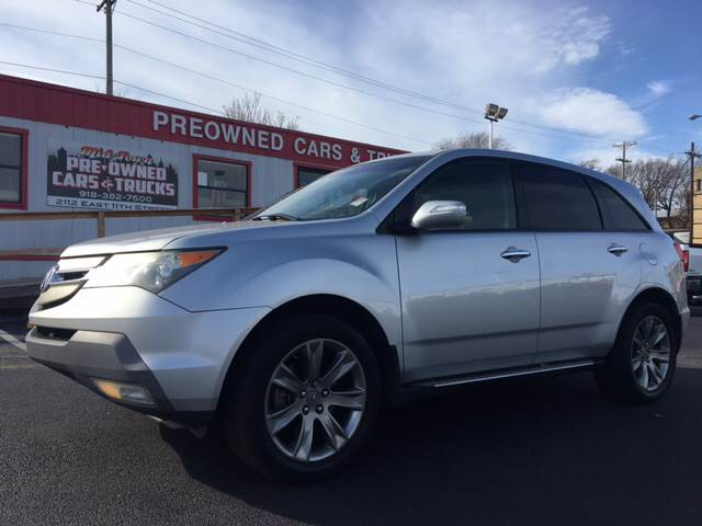 Acura MDX SHAWD In Tulsa OK Midtown PreOwned Cars Trucks - Acura mdx pre owned for sale