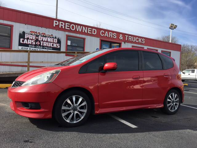 2012 Honda Fit Sport In Tulsa Ok Midtown Pre Owned Cars Trucks
